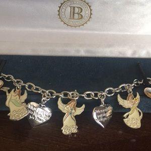 Jewelry - My Daughter I Wish You Angel Charm Bracelet